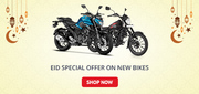 EID Special Offer on New Bikes by Droom