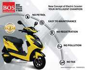 bos motors best electric scooter in india